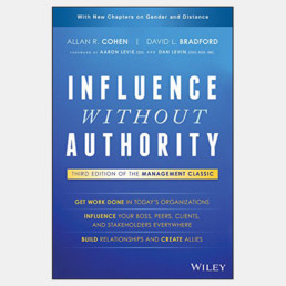 Influence Without Authority - Allan R. Cohen and David L. Bradford